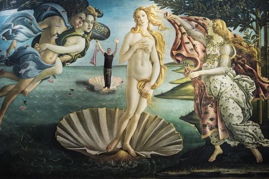 16 Botticelli - Nascita di Venere by domenicododaro