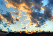 20th Feb 2018 - Sky 3 - Sunlit clouds