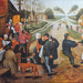 Seeing the complete(ed) picture: Pieter Breughel the Younger, 'Village dance'