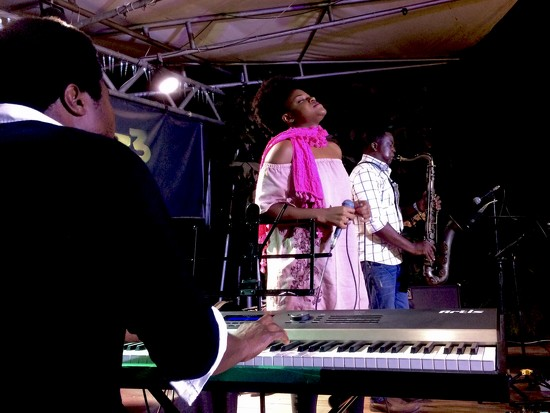 Jazz concert in Accra by vincent24