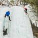 Ice Climbing in Munising Michigan - The Curtains