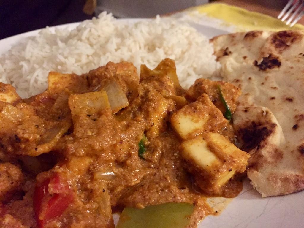 Homemade curry by bilbaroo