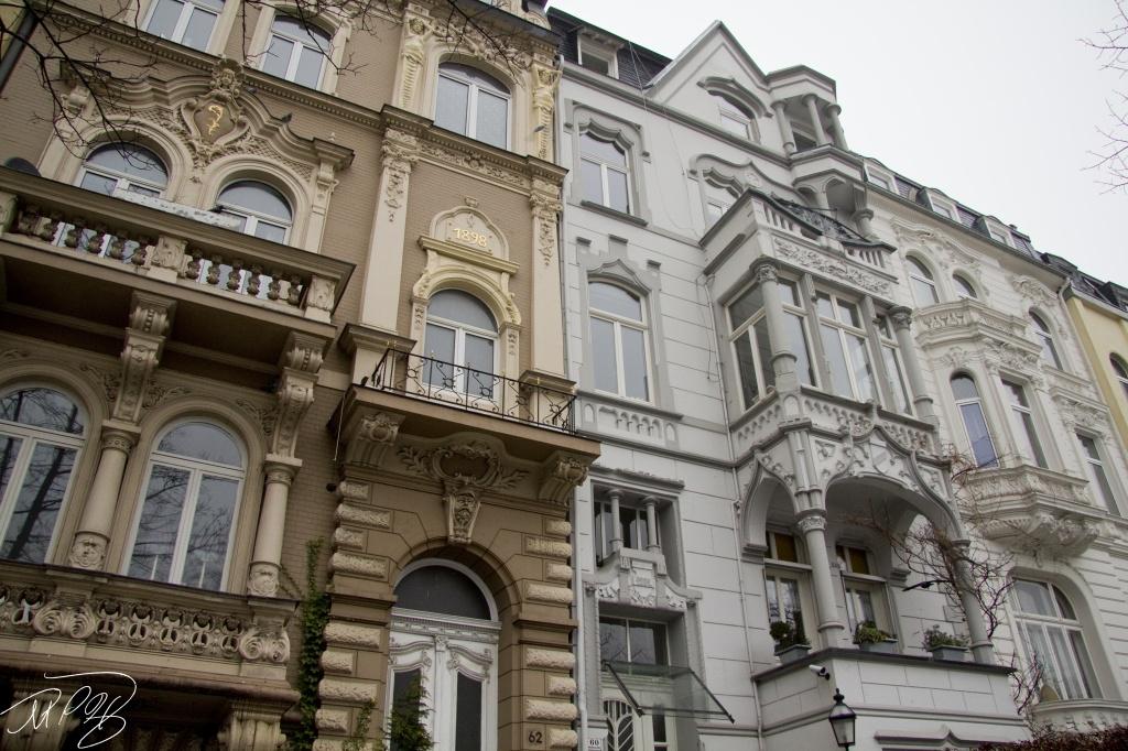 Victorian Row Houses by harvey