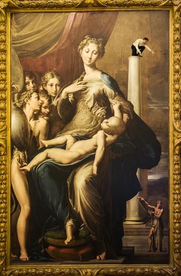 17 Parmigianino - Madonna dal collo lungo by domenicododaro