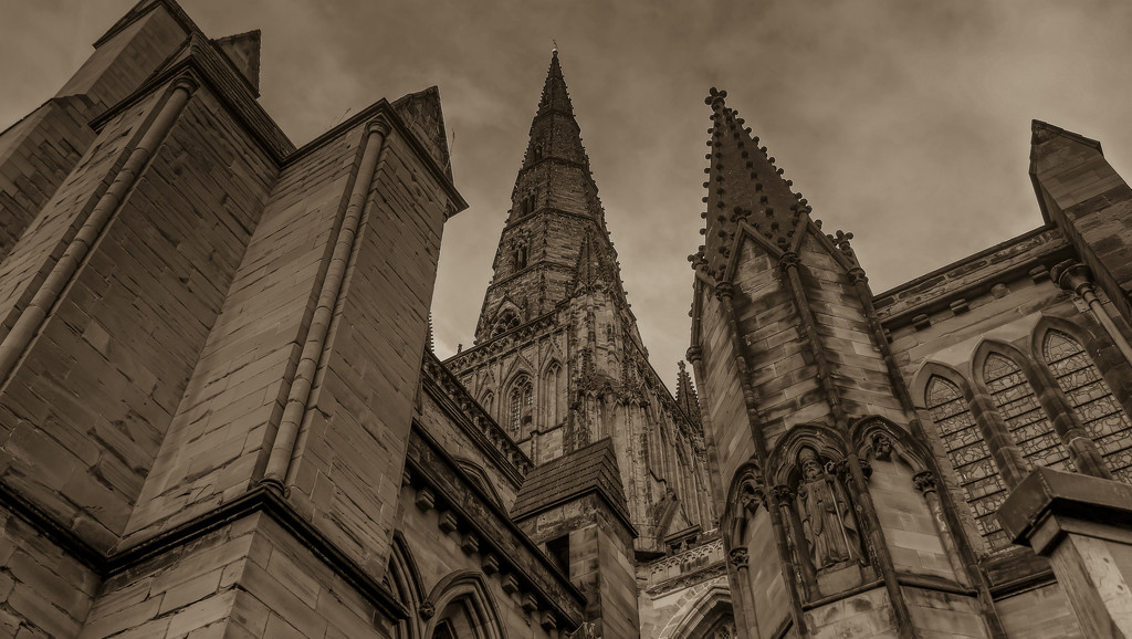 Cathedral Stonework. by tonygig