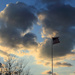 2974-0221 Flag and Clouds