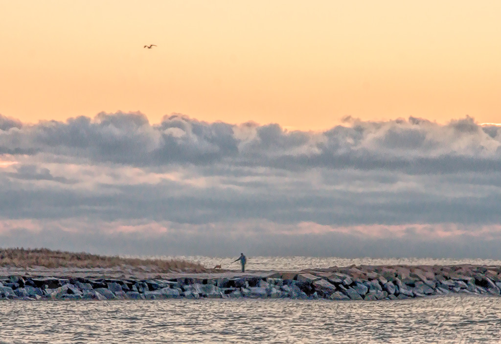 Morning at the jetty by joansmor