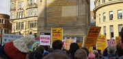 22nd Feb 2018 - Rally at Grey's Monument, Newcastle upon Tyne