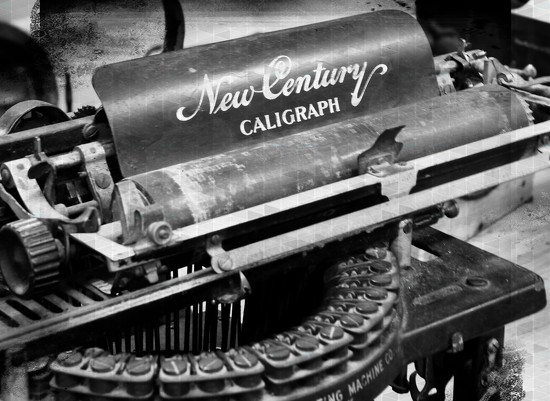 Old typewriter by yorkshirekiwi