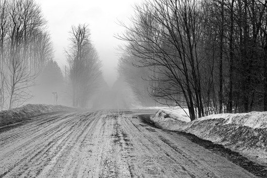 The Road Ahead is Foggy by farmreporter