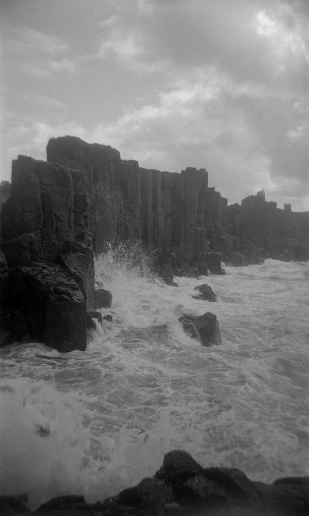Against the sea by peterdegraaff