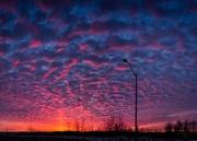 23rd Feb 2018 - textured sunrise