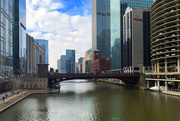 21st Feb 2018 - Bridge over the Chicago River