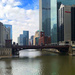 Bridge over the Chicago River by jaybutterfield