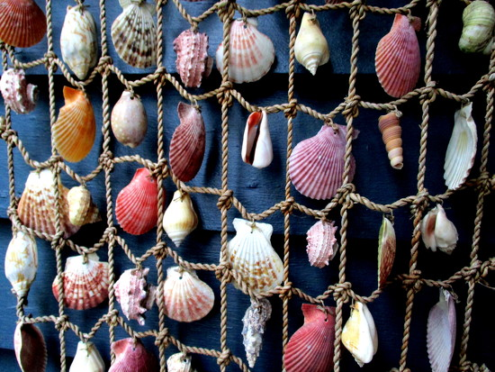 Shells on string by 777margo