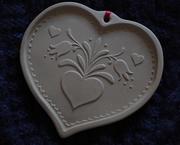 25th Feb 2018 - Heartshaped cookie mold