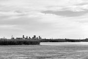 25th Feb 2018 - St. Louis Skyline - from Chain Of Rocks Bridge