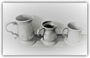 26th Feb 2018 - Pewter mugs