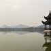 Lake, mountains and pagodas by blueace
