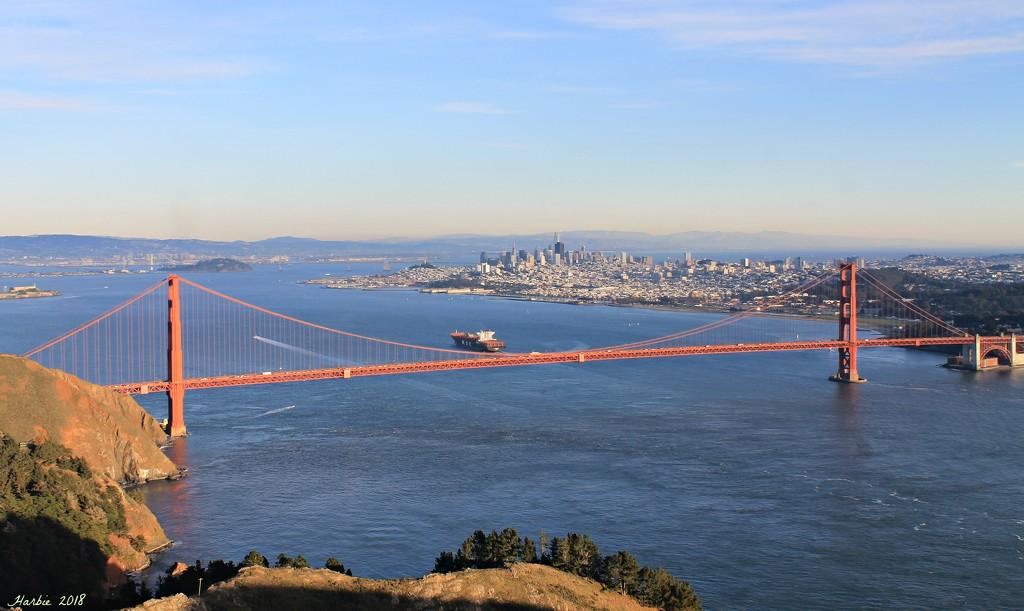 Golden Gate Bridge III by harbie