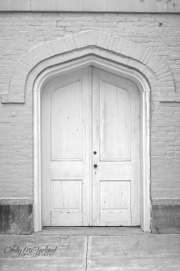 Door in White by cindymc