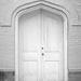 Door in White