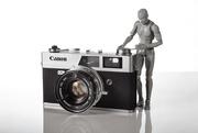 1st Mar 2018 - Vintage Canon Canonet QL19