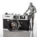 Vintage Canon Canonet QL19 by batfish