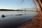26th Feb 2018 - Old Chain Of Rocks Bridge, Mississippi River