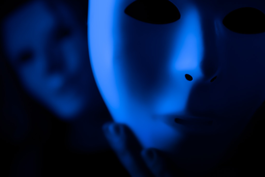 as we practice to deceive - blue! by northy