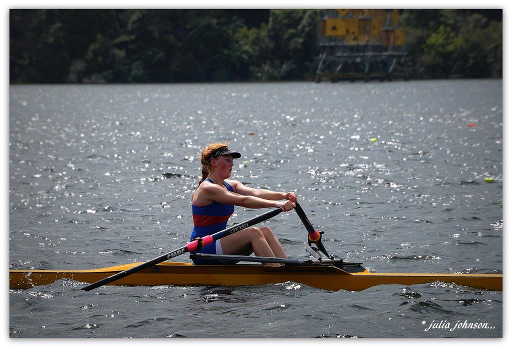Kenna North Island School Rowing Champs.. by julzmaioro