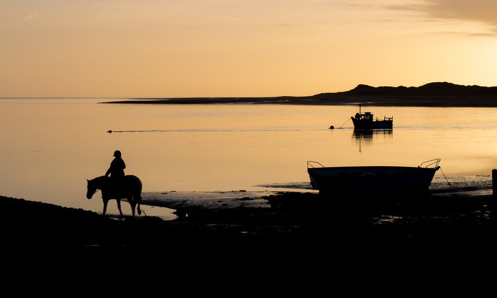 sunset at the estuary by callymazoo