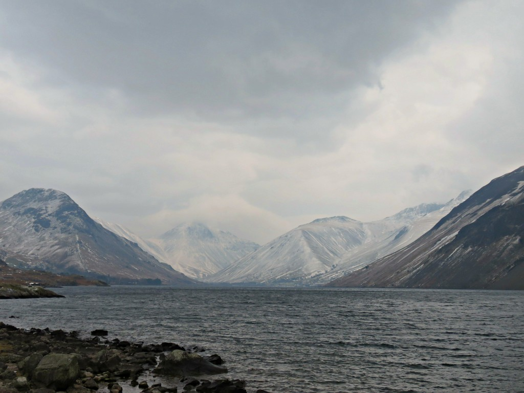 Wintry Wastwater  by countrylassie
