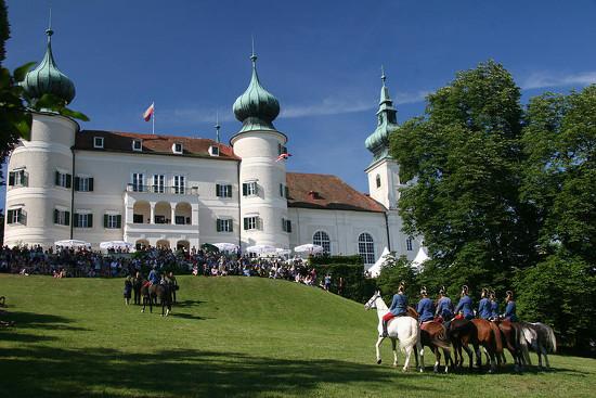 122 Artstetten Castle in June by travel