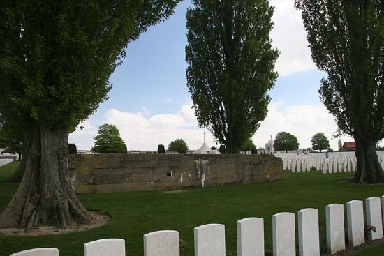 125 German Bunker at Tyne Cot by travel