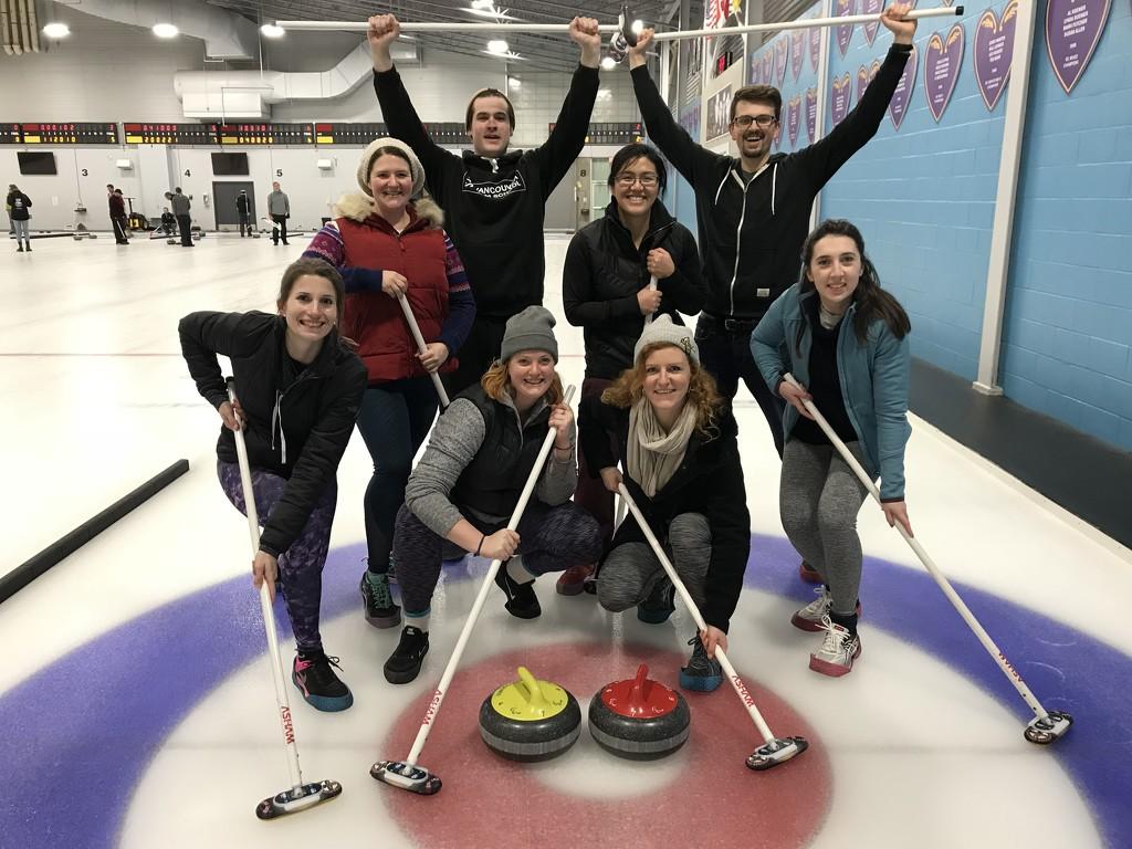 Curling by Scrivna
