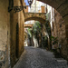 An alleyway in Todi, a hill town in Umbria, Italy