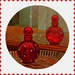 Red Perfume bottle  by beryl