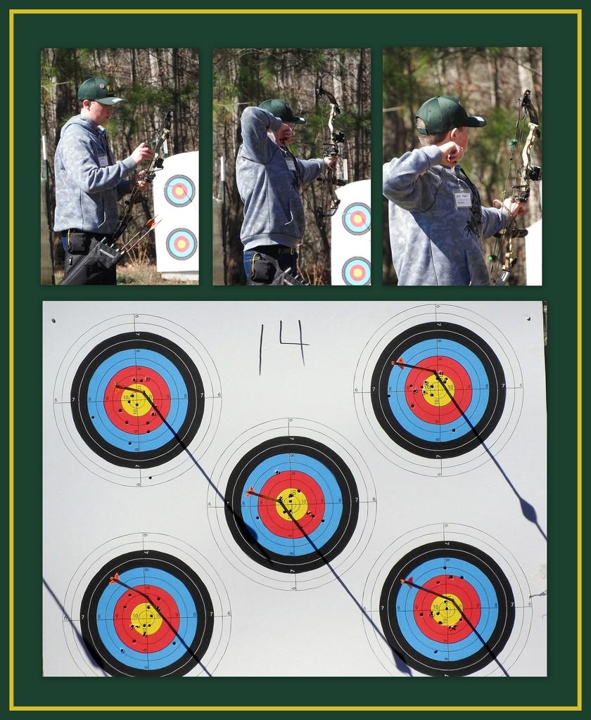 Hunter, my archer by homeschoolmom