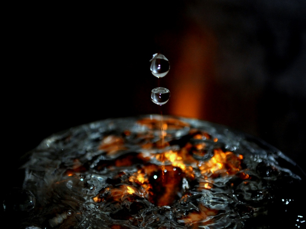 Fire Water by andycoleborn