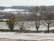 5th Mar 2018 - snowy ridge and furrow field