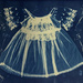 Cyanotype baby dress