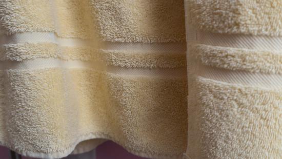 Yellow towel by randystreat