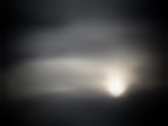 Sun on a cloudy day  by joemuli