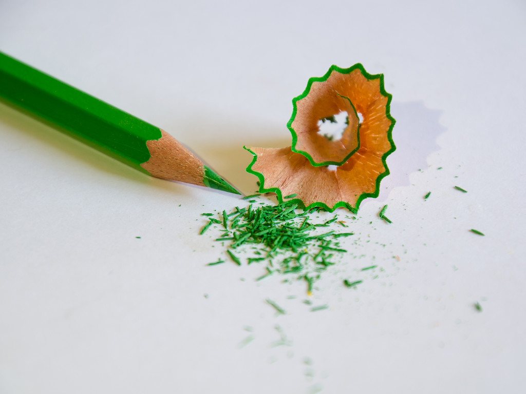 Green Pencil by salza
