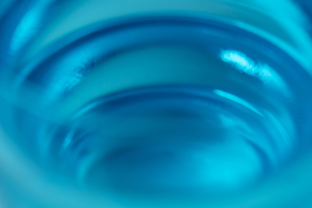 Blue - Water Glass by nicolecampbell