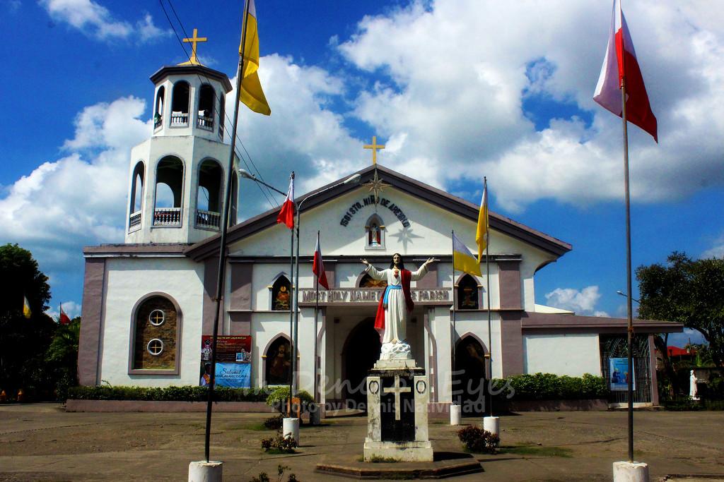 Sto. Niño  De Arevalo Parish Church by iamdencio