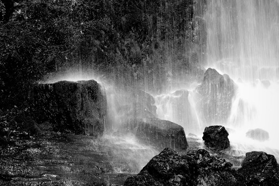 Bottom of the Waterfall by nickspicsnz