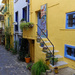 Back street  colour in Collioure