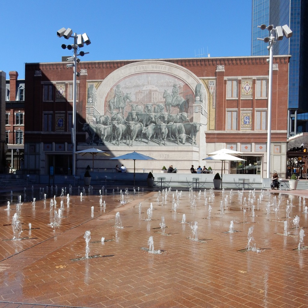 Sundance Square in Fort Worth by louannwarren